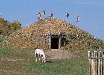 Abraham lincoln state park near mandan north dakota l amp c 10 20 1804