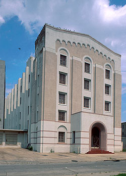 Bexar County Jail (1878) in San Antonio, Texas